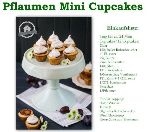 Rezept Mini Cupcakes
