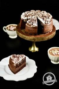 Heiße Schoko Marshmallow Torte 4