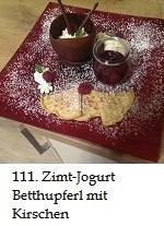 111Zimt-Jogurt Betthupferl mit Kirschen von Ramona