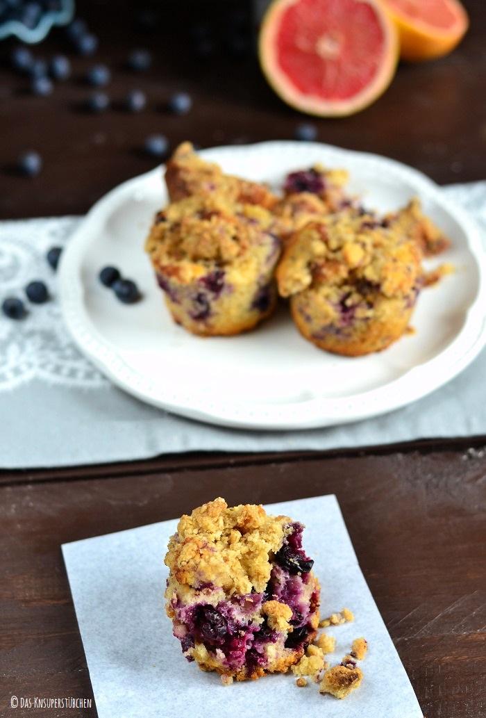 Blaubeer Grapefruit Muffins 9-3