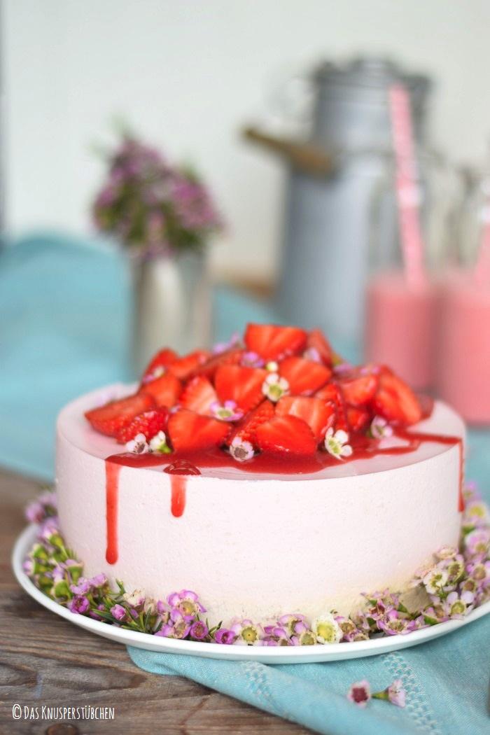 Erdbeershake Torte 7
