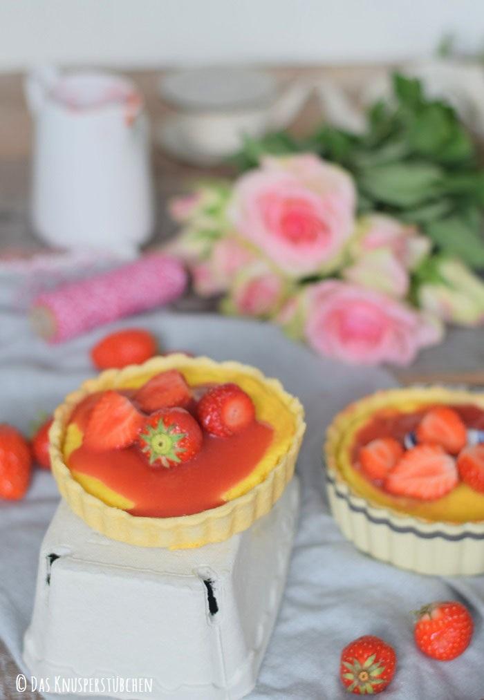 Erdbeer Pudding Tartelette 11