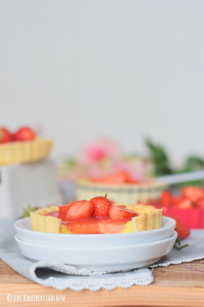 Erdbeer Pudding Tartelette 14