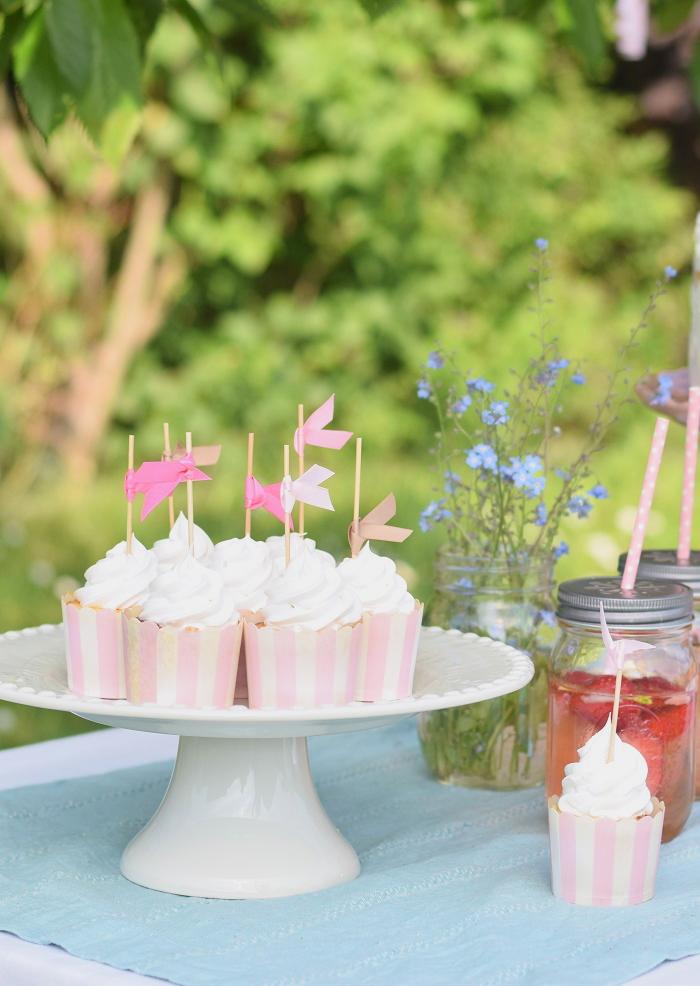 Zitronen Baiser Cupcakes 5