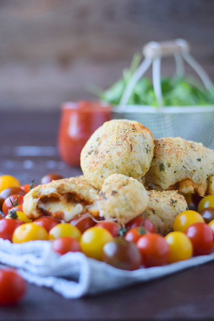 BBQ Broetchen - BBQ Rolls filled with Cheese and tomato sauce 17