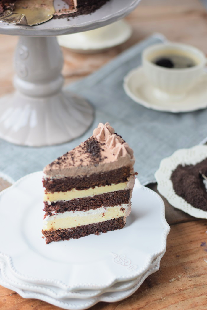 Schoko Cheesecake Torte 19