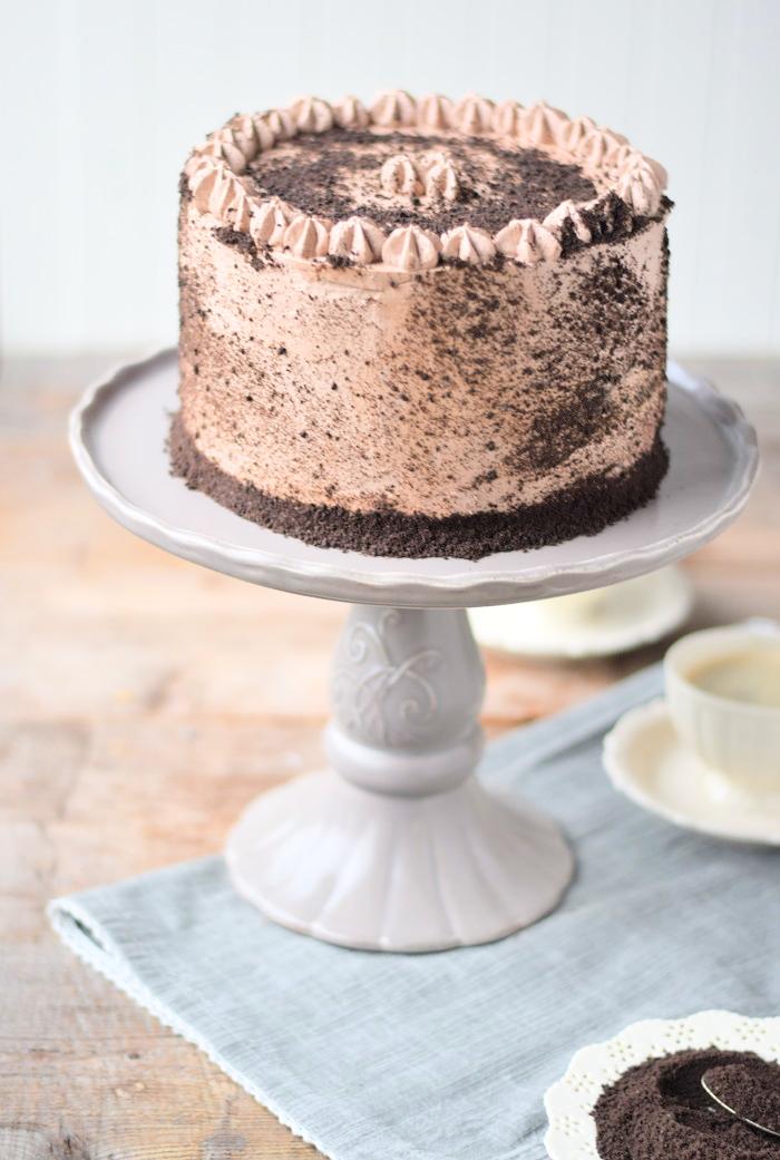Schoko Cheesecake Torte 2