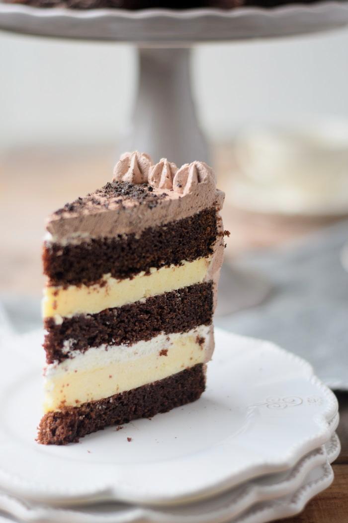 Schoko Cheesecake Torte 27