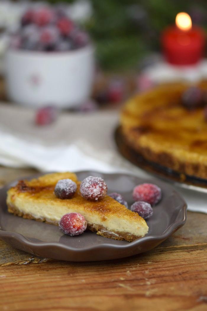 Zimt Brulee Tarte mit Honig und gezuckerten Cranberries (22)