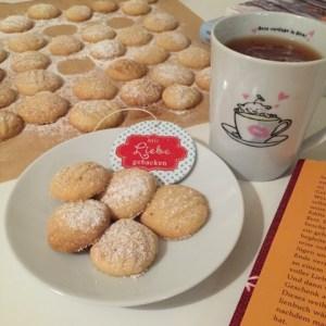 Teeflöckchen - Schneeflöckchen Kekse