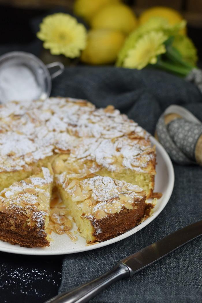 Zitronen Mandelkuchen Glutenfrei - Lemon Almond Cake Glutenfree (10)