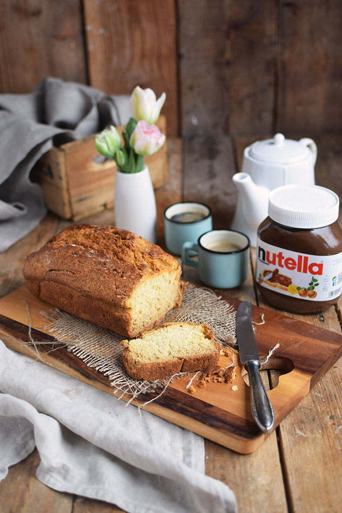 Buttermilchbrot - Buttermilk Soda Bread - Lieblingsbrot nutella (21)