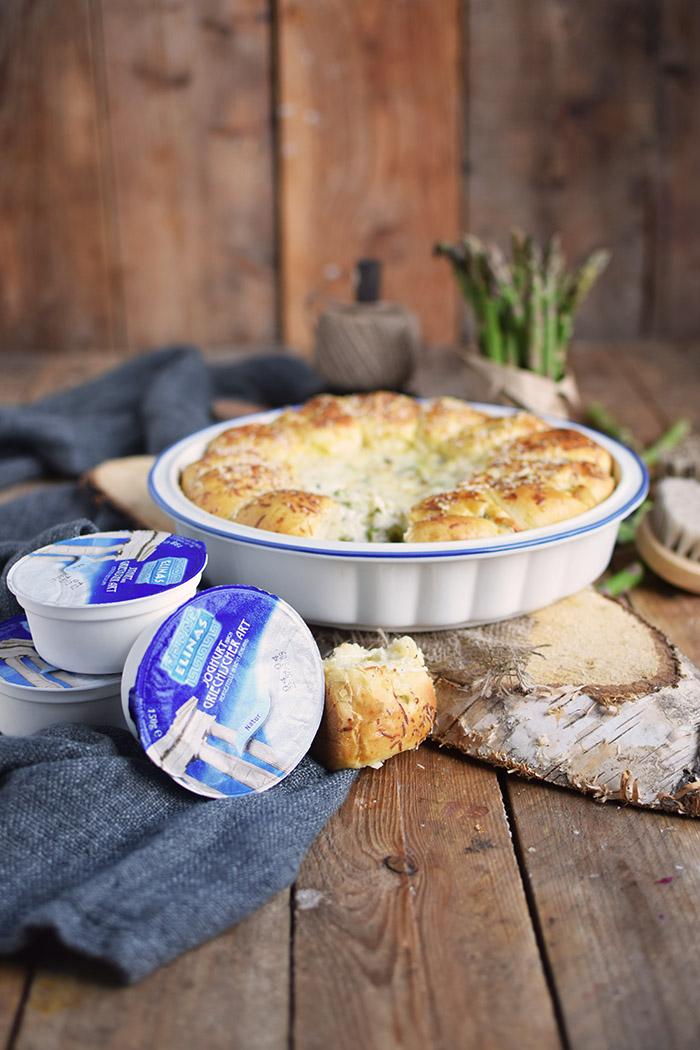 Joghurt Broetchen mit Spargel Dip - Yogurt Asparagus BBQ Rolls (19)