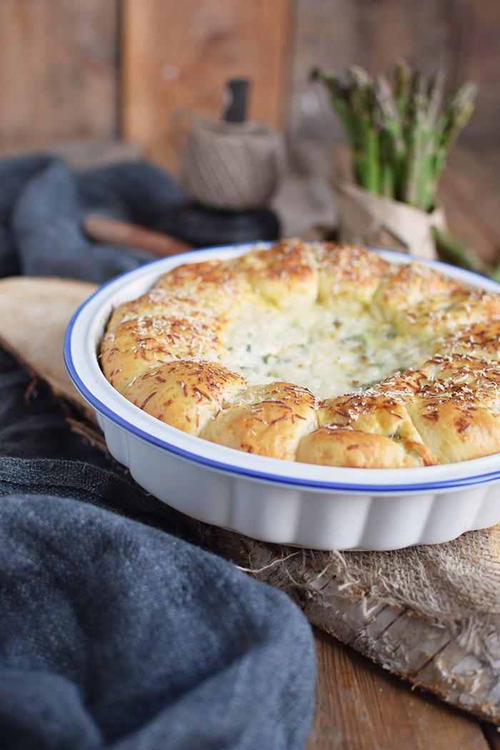 Joghurt Broetchen mit Spargel Dip - Yogurt Asparagus BBQ Rolls (23)