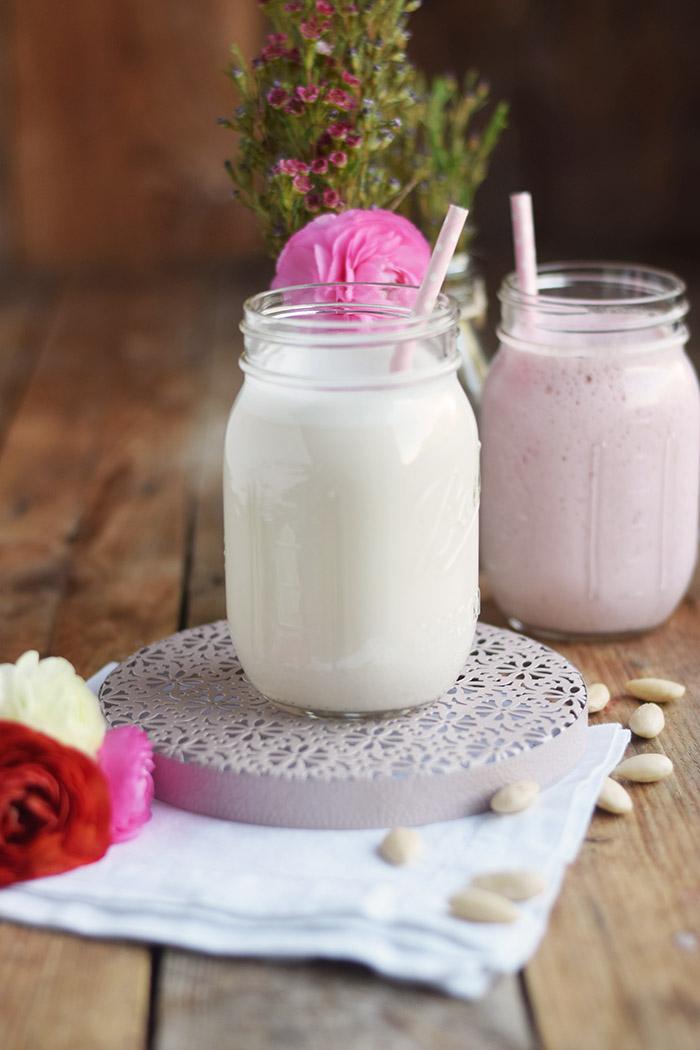 Erdbeer Smoothie Shake - Strawberry Breakfast Smoothie Shake (4)