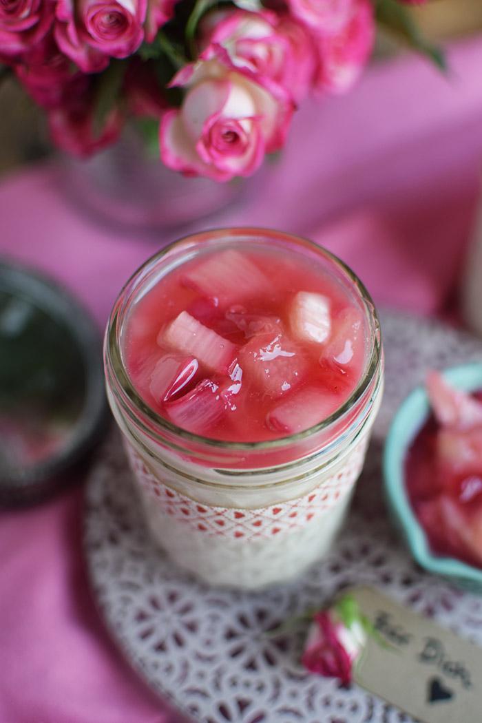 Mascarpone Buttermilch Dessert mit Rhabarber (12)