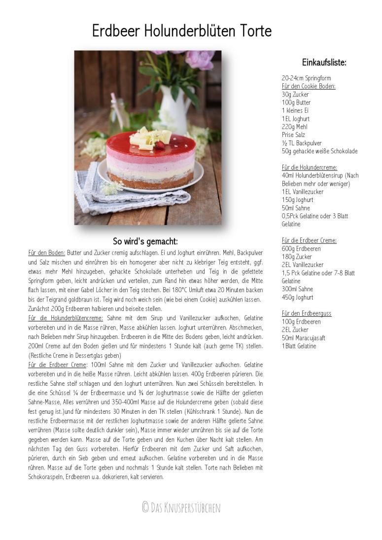 Erdbeer Holunderblueten Torte-001
