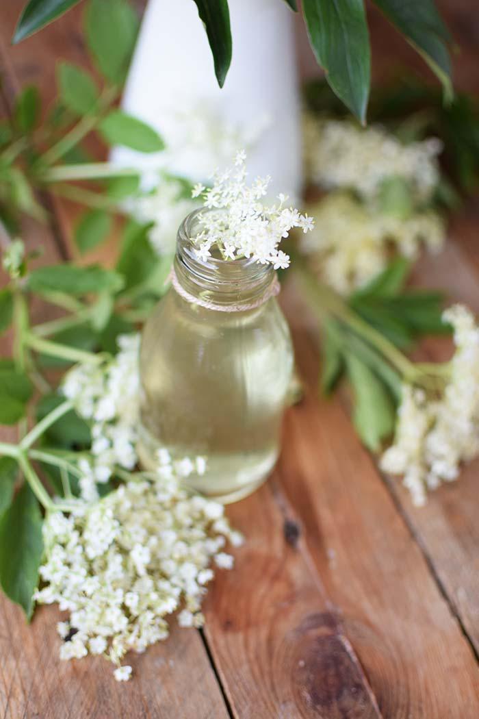 Holunderblueten Sirup & Schorle - Elderflower Cordial & Lemonoade (8)