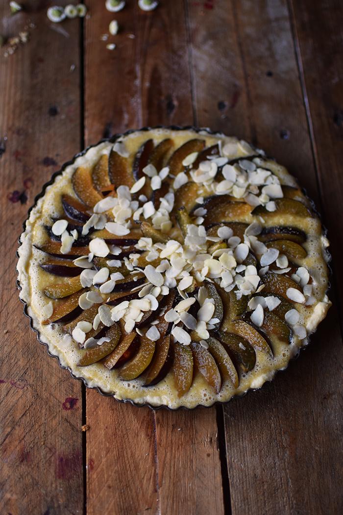 Pflaumen Mandelkuchen - Plum Almond Cake (3)