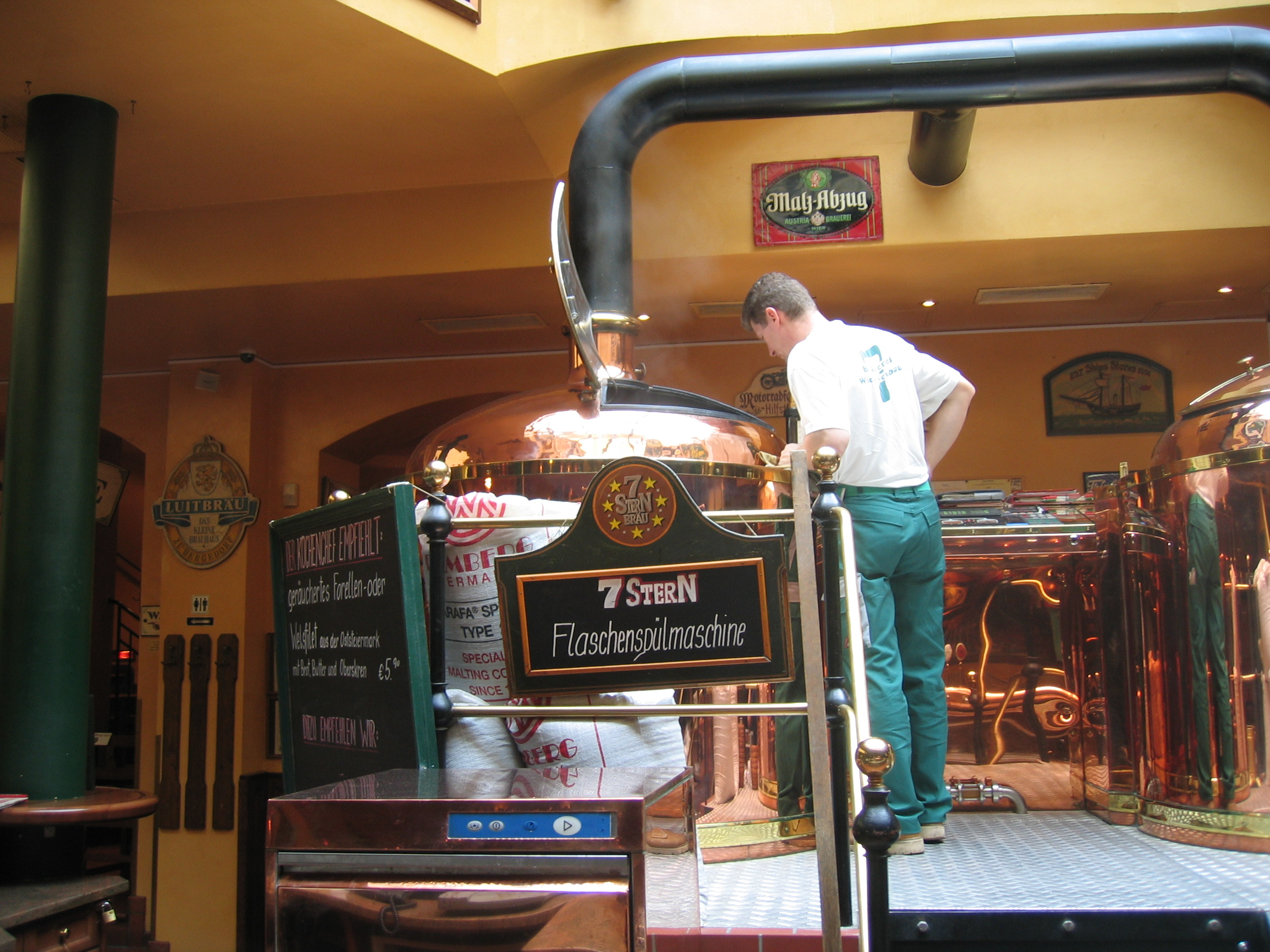 A real small scale brewer