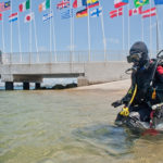 Wheelchair scuba ride