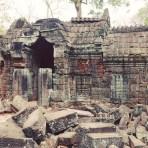 Crumbling monuments of Angkor
