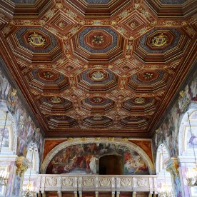 The Palace of Fontainebleau's Ballroom