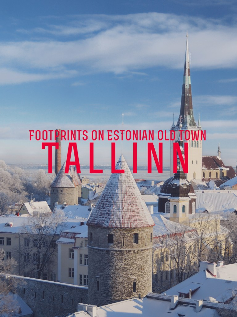 Footprints on Estonian Old Town