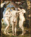 The Three Graces - Pedro Pablo Rubens, 1636-1639