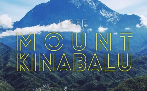 I see the Mount Kinabalu