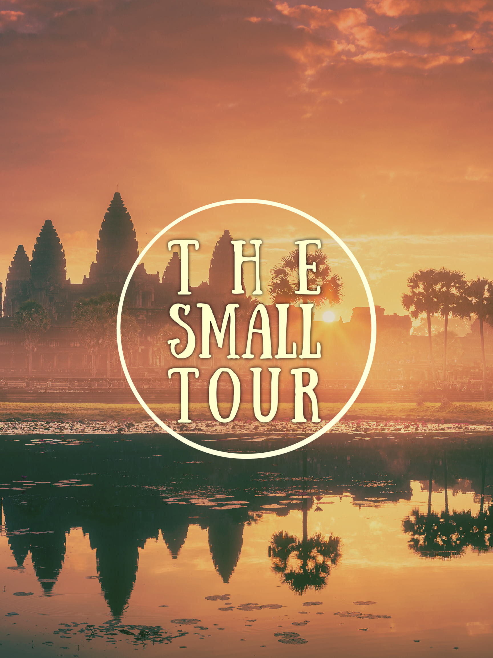 The Angkor Small Tour – Walking with the Monks