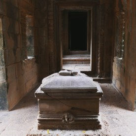 A baby coffin...