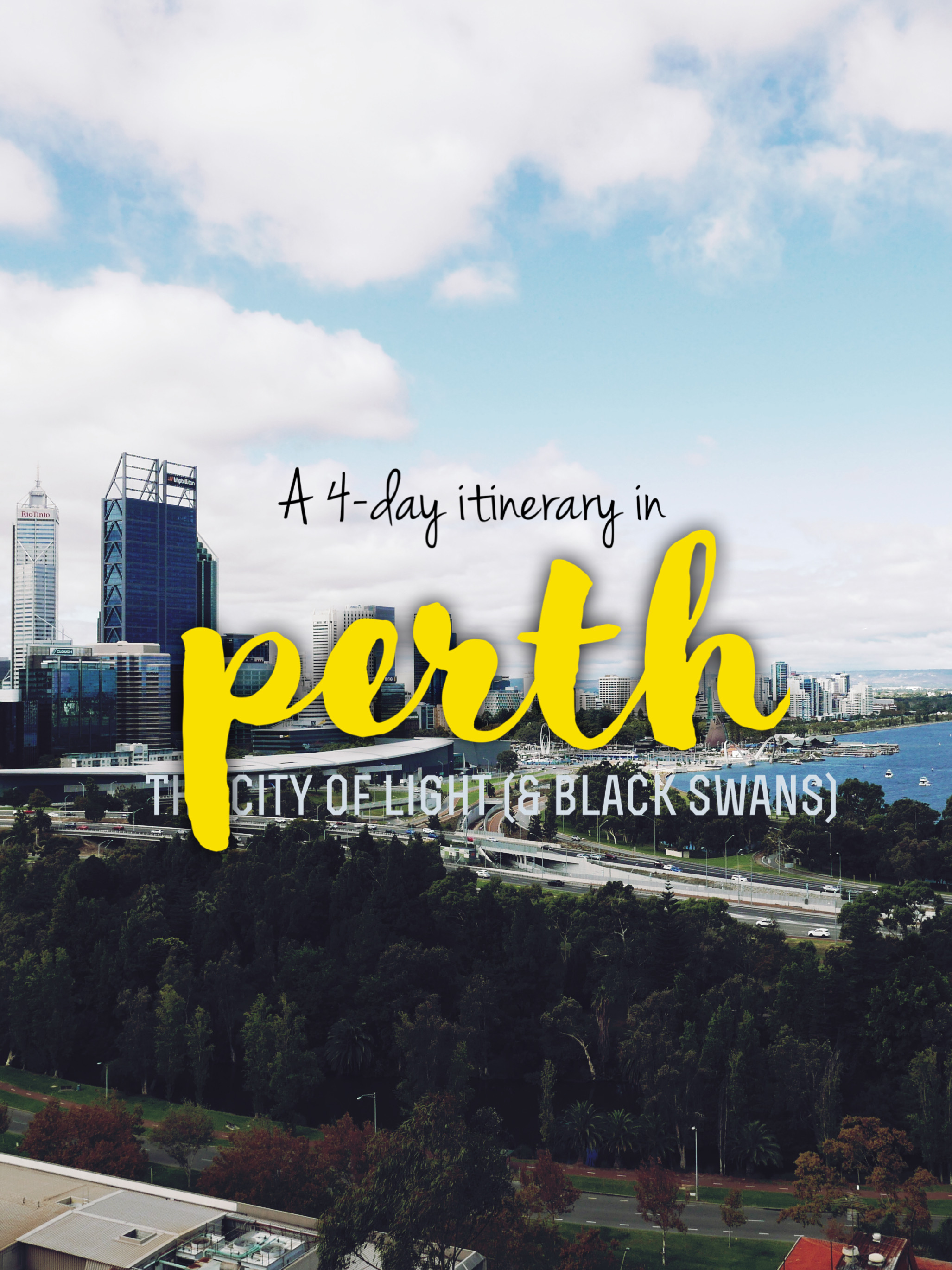 Exploring Perth: 4-day Itinerary and City Walk