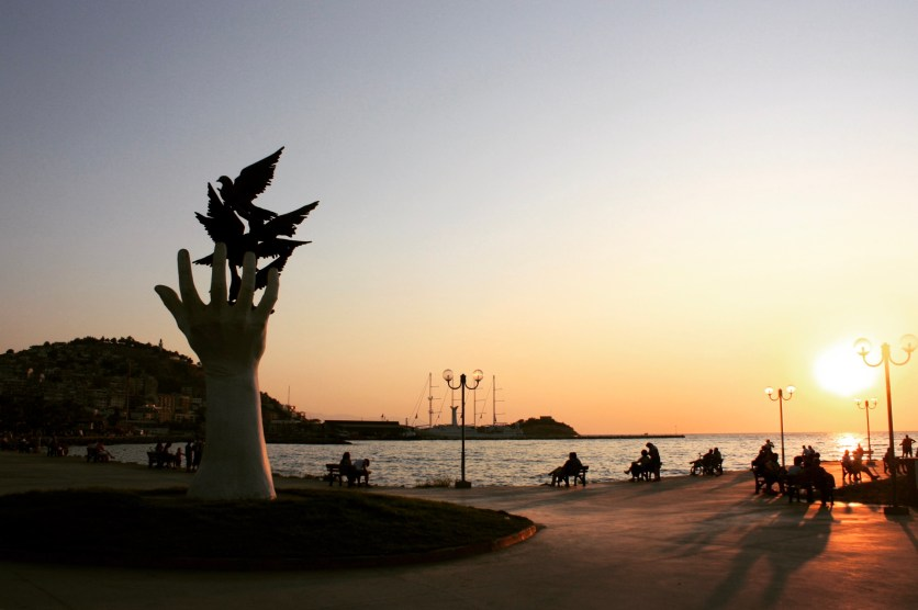 The landmark at Kuşadası waterfront