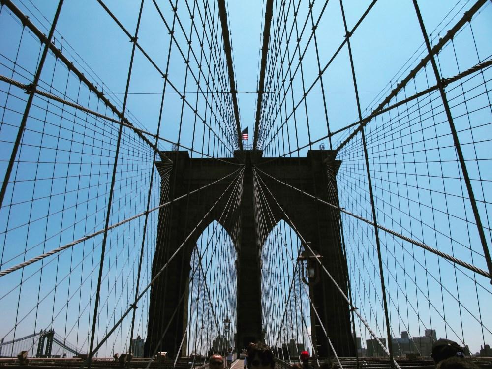 6. NYC Brooklyn Bridge