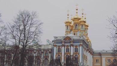 Catherine Palace - entrance