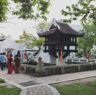 Hanoi #7 One Pillar Pagoda