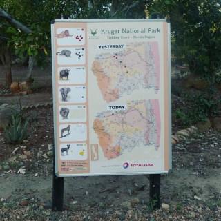 South Africa, Kruger - Map