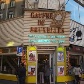 Waffle, Brussels, Belgium