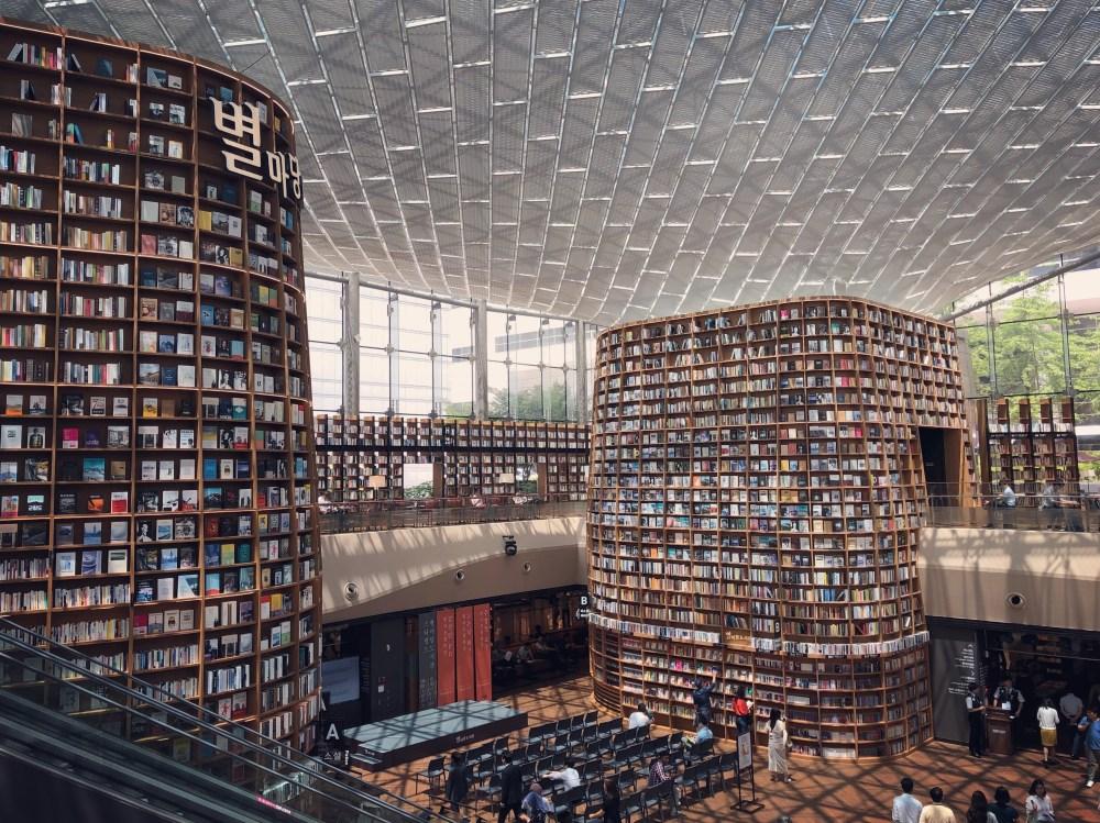 Starfield Library, Seoul Korea