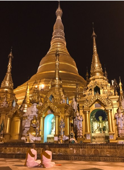 Shwedagon Pagoda, Yangon, Myanmar - Introducing Southeast Asia's best three Buddhist Heritage Sites. We will highlight three magnificent civilizations and explore the diverse cultures of Myanmar, Cambodia and Indonesia. How many have you been to?