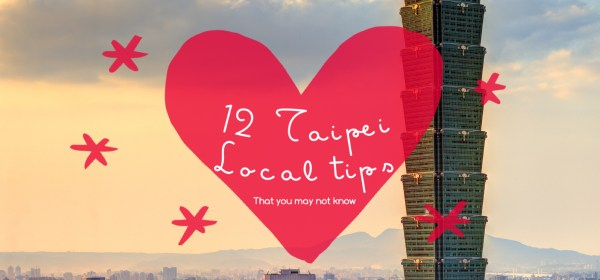 Here I am sharing with you 12 local tips in Taipei, venture to markets, shopping streets, shops, museums, and other places that you may not know about...