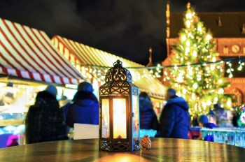 Christmas Market Table
