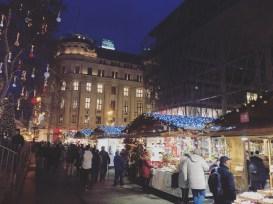 Budapest, Europe Christmas Market