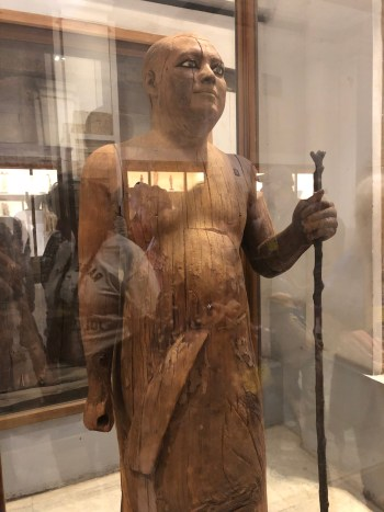 Egyptian Museum (4) - Wooden Statue of Ka-Aper
