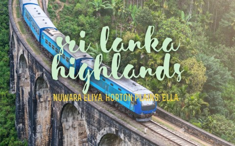 How-to Guide of Sri Lanka Scenic Train Journey in the Central Highlands