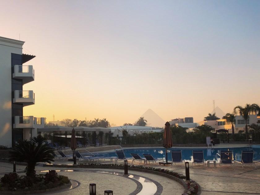 Day 1 Cairo Pyramids Hotel 2