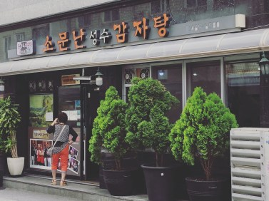 Mangwon-dong망원동 1