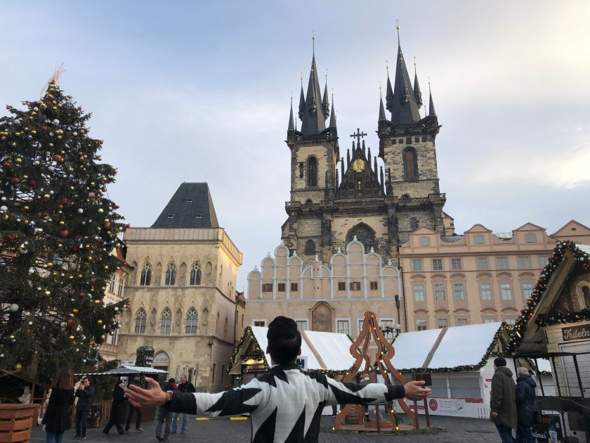 Prague - The Church of our Lady before Týn