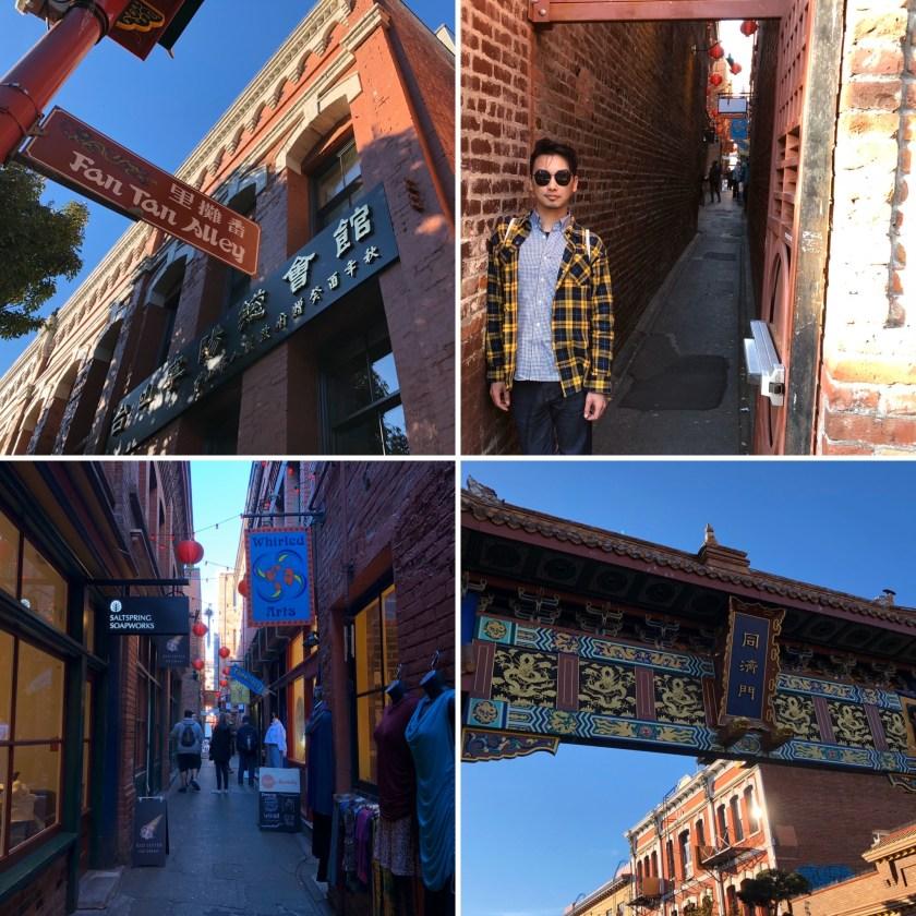 9 Fan Tan Alley, Chinatown & Market Square